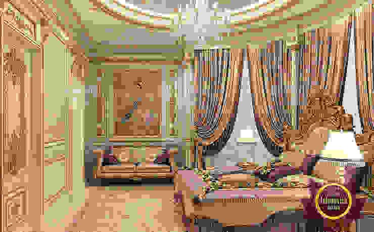 Impressive Classic Bedroom Interior by Luxury Antonovich Design