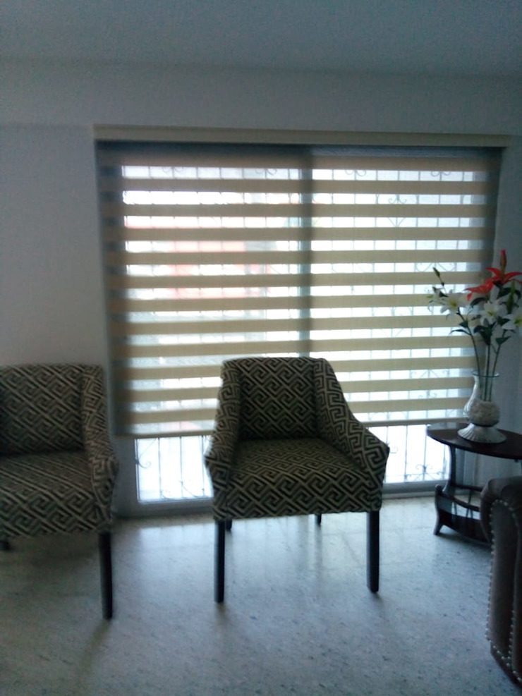 Persiana Sheer. de Blinds Factory GDL Minimalista