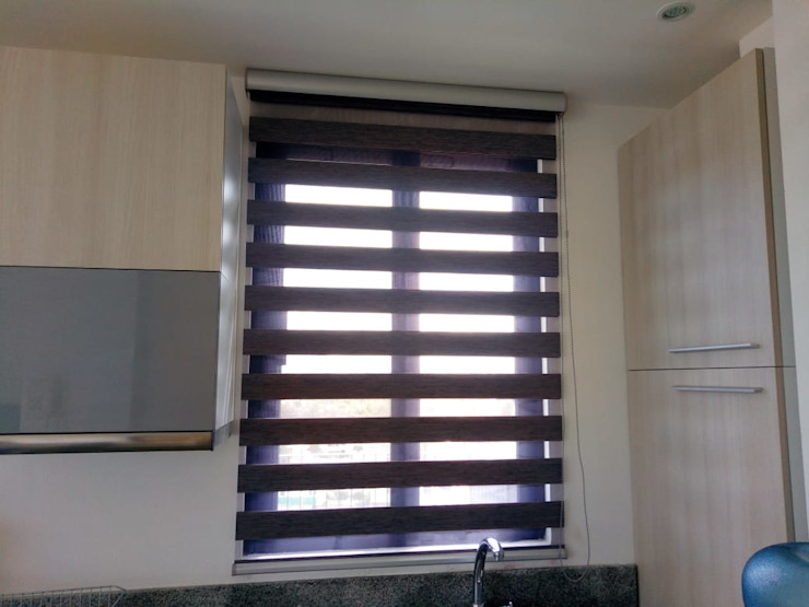 Persiana Sheer de Blinds Factory GDL Minimalista