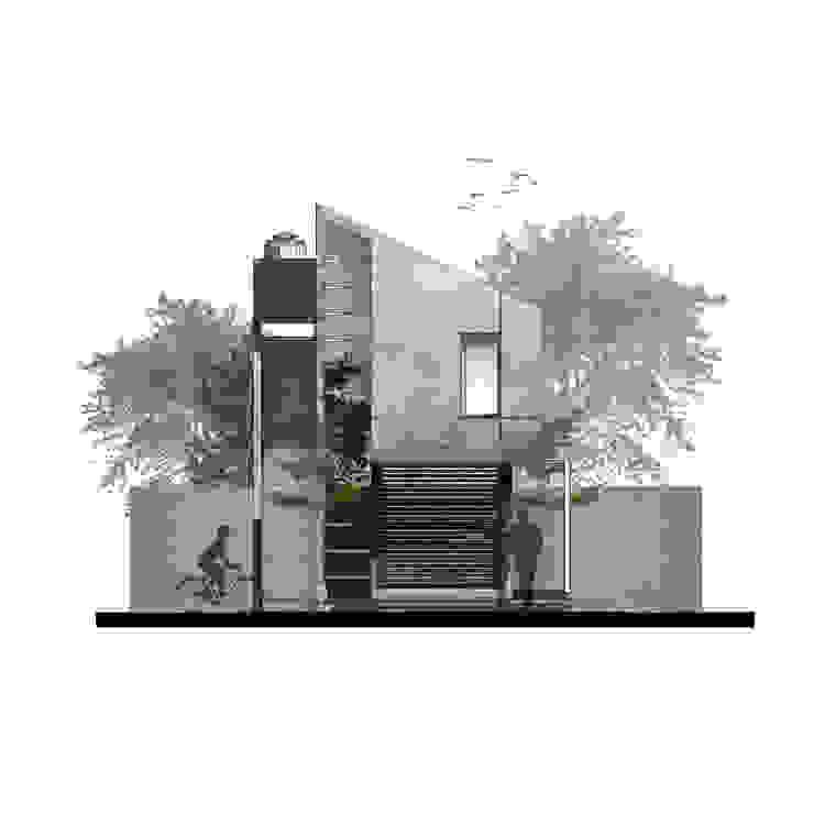 Rumah Cihanjuang Taman Minimalis Oleh Regi Kusnadi Minimalis
