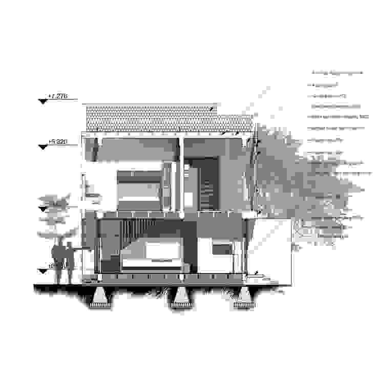 Rumah Cihanjuang Oleh Regi Kusnadi Minimalis