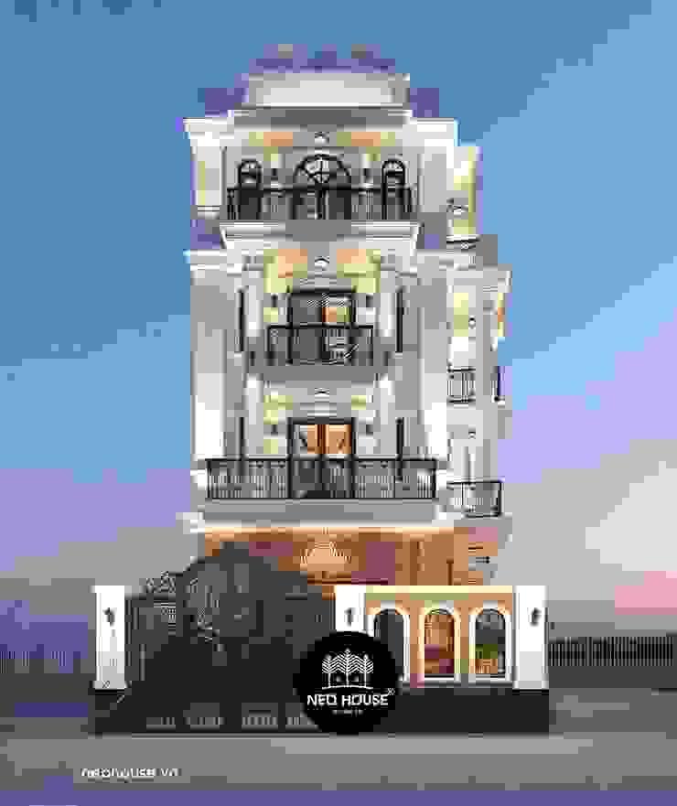 Mẫu thiết kế biệt thự 5 tầng tân cổ điển đẹp tại Tphcm bởi NEOHouse