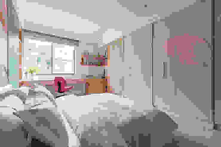 你你空間設計 Dormitorios de niñas Rosa