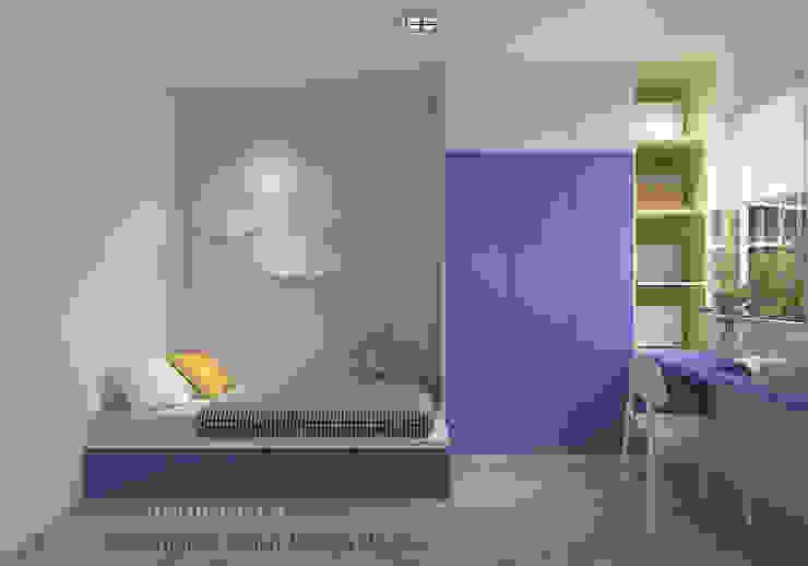 Children's bedroom by Swish Design Works Modern Plywood