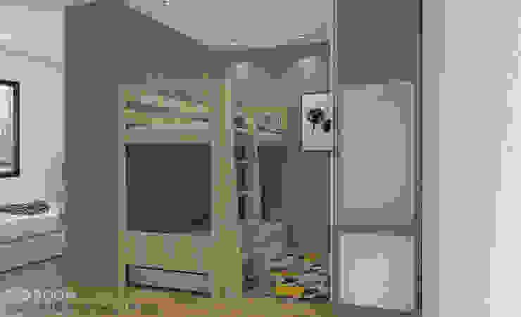 Children's bedroom Modern style bedroom by Swish Design Works Modern Plywood