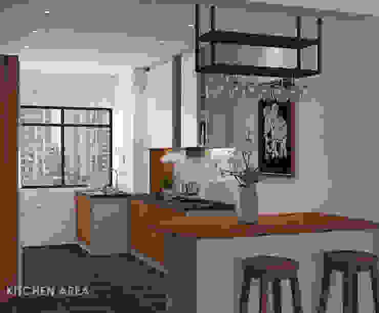 Modern Yemek Odası Swish Design Works Modern Kontraplak