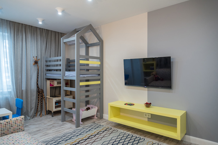 YOUR PROJECT Teen bedroom Yellow