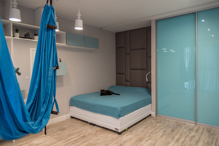 YOUR PROJECT Teen bedroom Turquoise