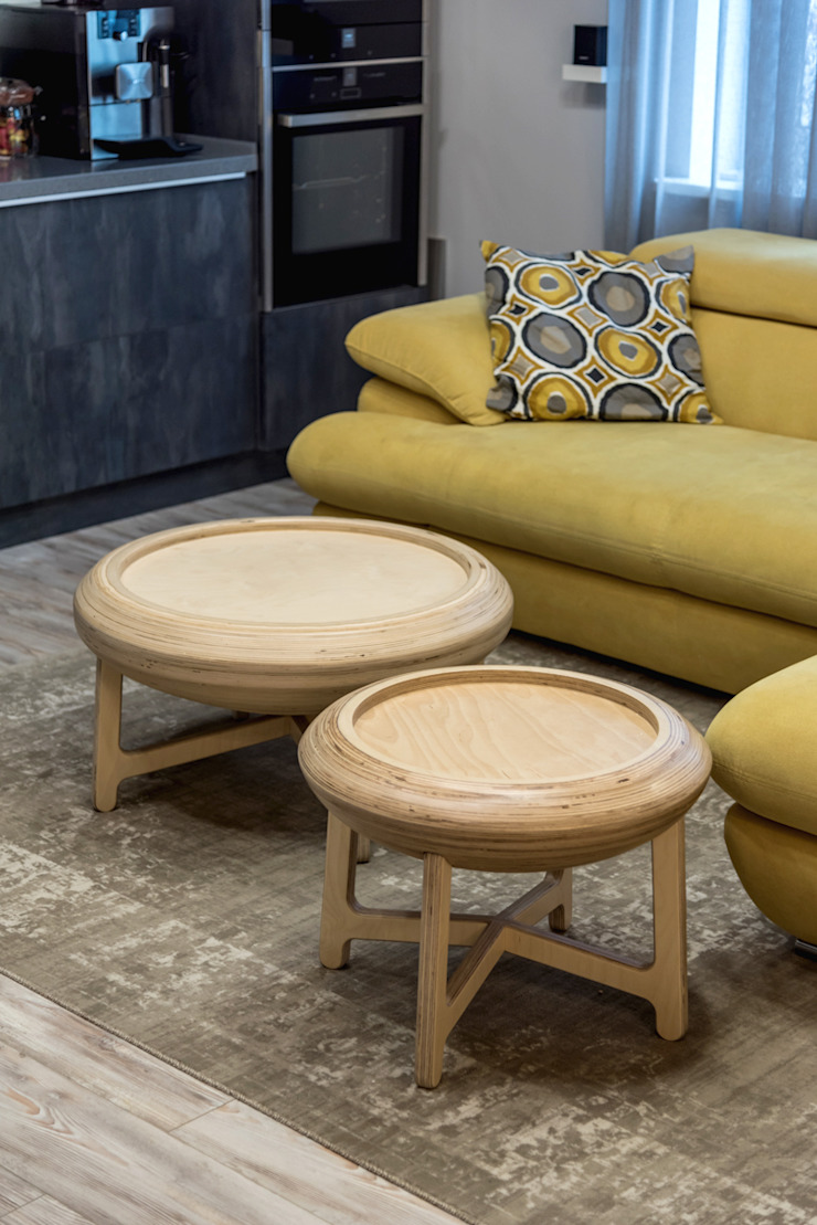 YOUR PROJECT Living room Plywood Yellow