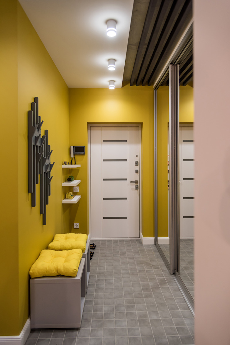 YOUR PROJECT Industrial corridor, hallway & stairs Yellow