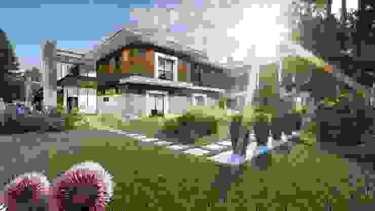 Ölmez villaları-2 Modern Bahçe ANTE MİMARLIK Modern