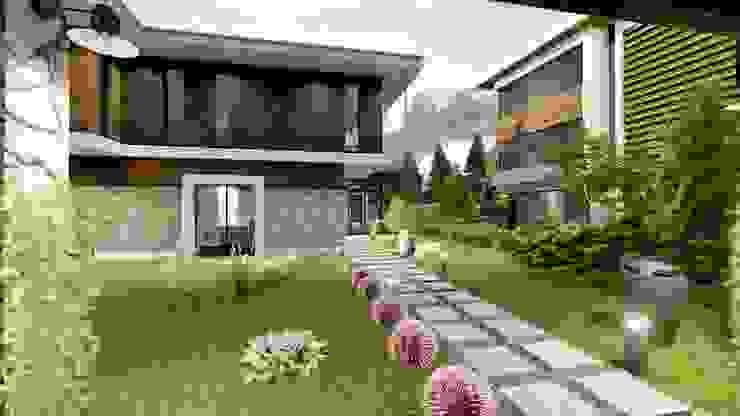 Ölmez villaları Modern Evler ANTE MİMARLIK Modern