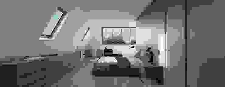 Dormitorios de estilo moderno de Holistic Architecture Moderno