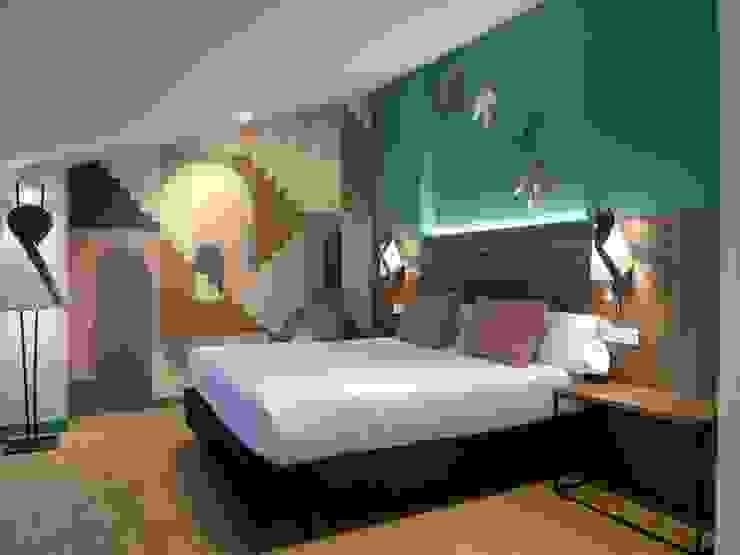Maite Santaclara Interiorista Camera da letto moderna