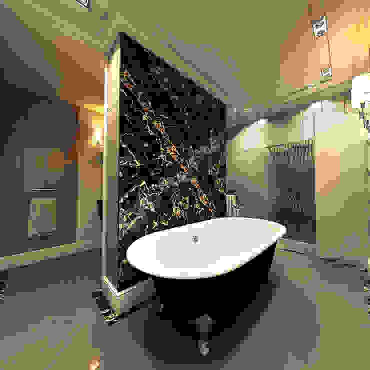 Classic style bathroom by STUDIO DESIGN КРАСНЫЙ НОСОРОГ Classic Marble