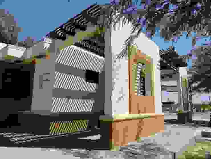 Casa Nueva de la Energía Arquitectura del Desierto Casas ecológicas Ladrillos Beige