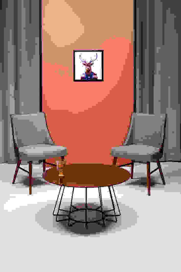 2. Piensa en la distribución y el mobiliario de moblum Moderno