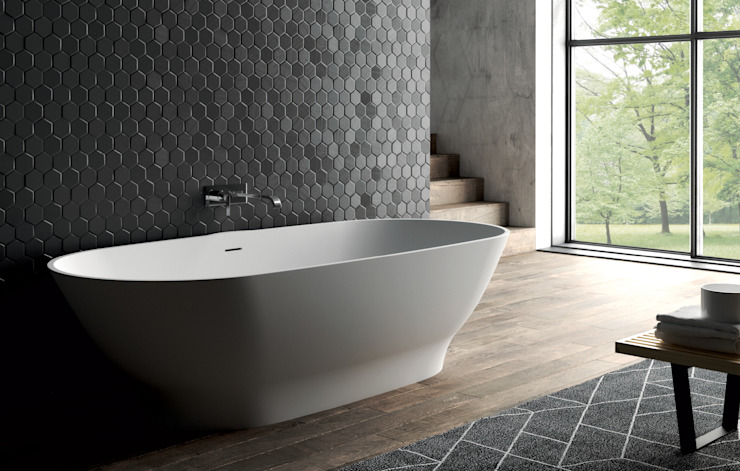 Vasca mod. BELIA Aquaforte Technological Surface BagnoVasche & Docce Bianco