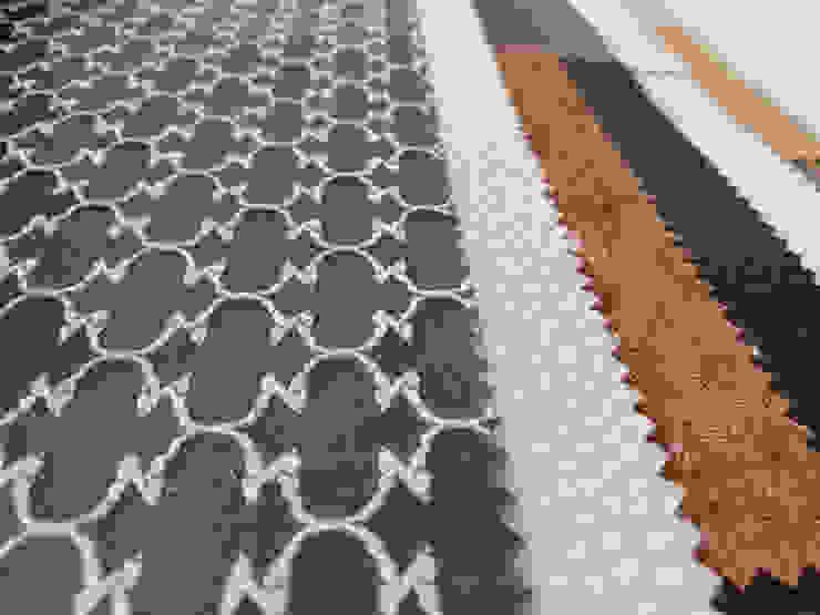 EASYDEKOR Textiles de alto rendimiento: modern tarz , Modern Tekstil Altın Sarısı