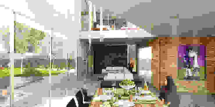 by Boutique de Arquitectura ¨Querétaro [Sonotectura+Refaccionaria] Modern Concrete
