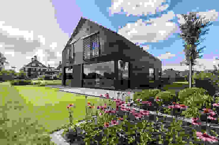 Achtegevel Villa PH Ivo de Jong architect Villa Hout Zwart