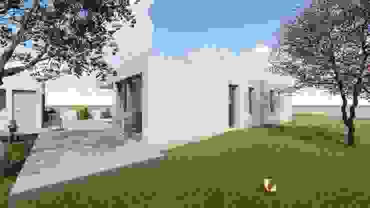 Vista para fachada sul e poente por Limit Studio