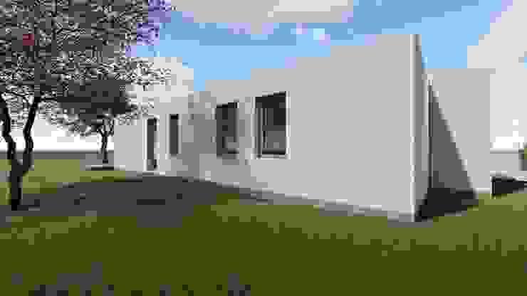 Vista para a fachada sul por Limit Studio