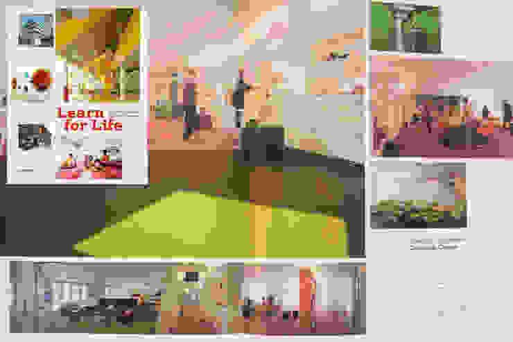 LEARN FOR LIFE Moderne Bürogebäude von _WERKSTATT FÜR UNBESCHAFFBARES - Innenarchitektur aus Berlin Modern