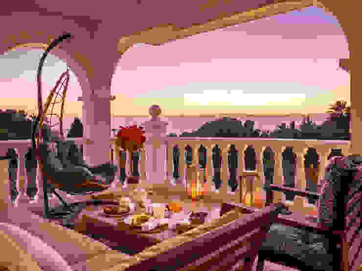 terraza DC PROJECTS Diseño de interior Málaga Hoteles de estilo moderno