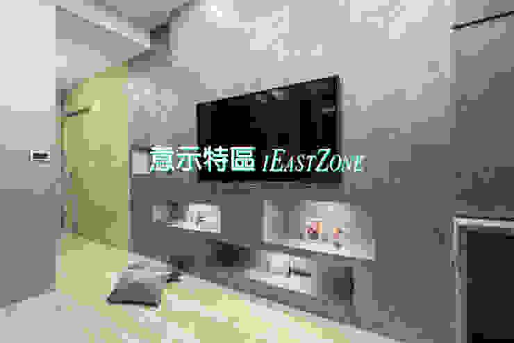 奢華風電視牆: 現代  by 意示特區, 現代風