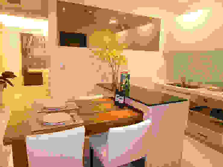 餐廳則採半開放式設計 根據 雅和室內設計 現代風