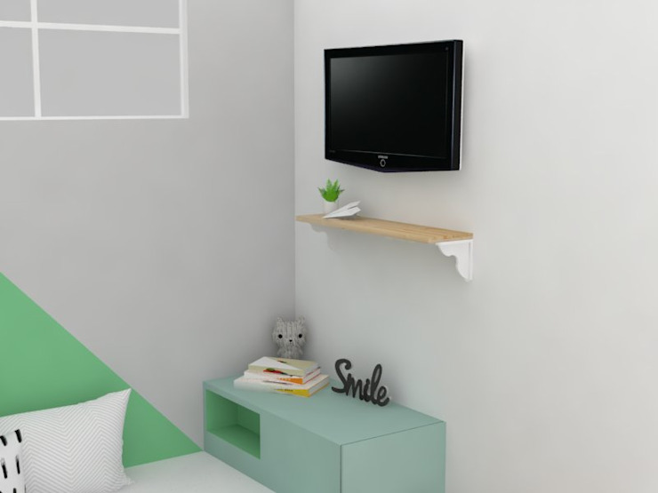 Remodelación habitación infantil de Decó ambientes a la medida Minimalista