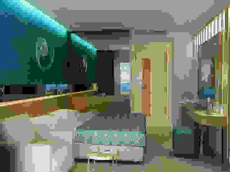 Standart Oda Modern Yatak Odası 3d Antalya Modern