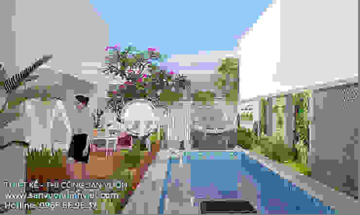 Moderne Pools von Sân Vườn Đỉnh Việt Modern