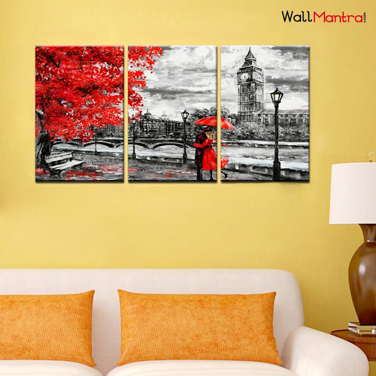 Romantic Wall Paintings: minimalist  by WallMantra,Minimalist