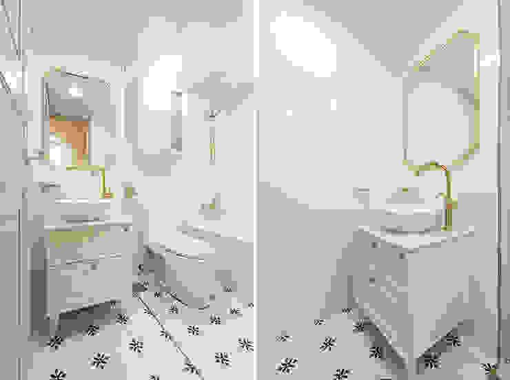 Moderne Badezimmer von 곤디자인 (GON Design) Modern