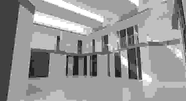 Vestíbulo con luz natural Edificios de oficinas de estilo moderno de INARQ Espacio Moderno