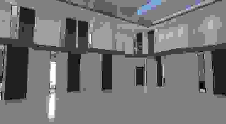 Vestíbulo luz nocturna Edificios de oficinas de estilo moderno de INARQ Espacio Moderno