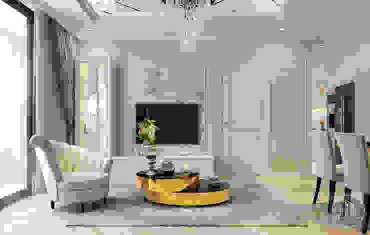 classic  by Công ty CP Kiến trúc và Nội thất Sen design, Classic Leather Grey