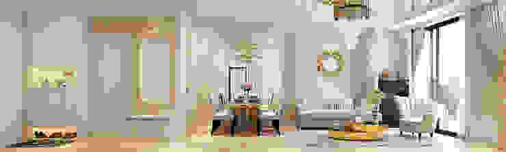 modern  by Công ty CP Kiến trúc và Nội thất Sen design, Modern