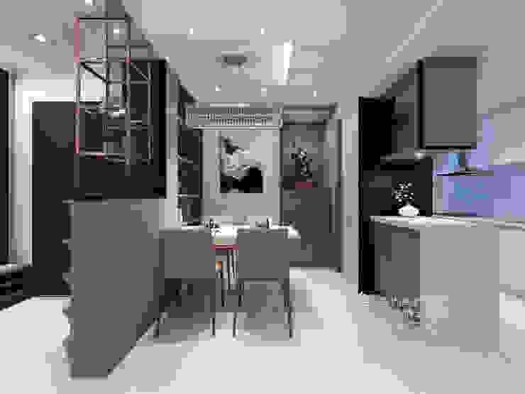 餐廳 根據 木博士團隊/動念室內設計制作 現代風