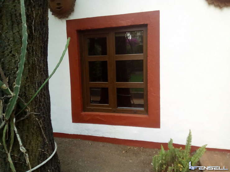 FENSELL Windows & doors Windows Plastic Wood effect
