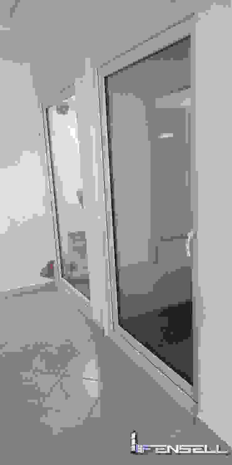 FENSELL Windows & doors Doors Plastic White