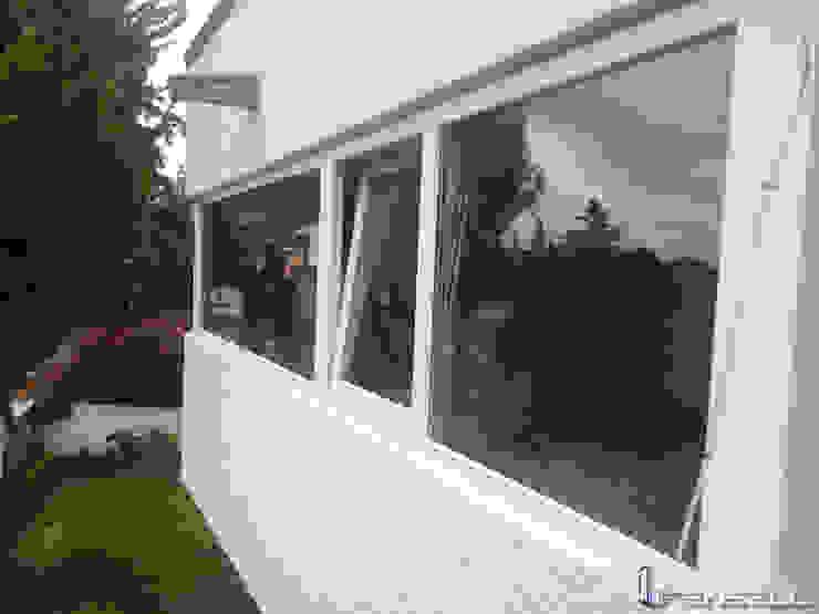 FENSELL Windows & doors Windows Feathers White