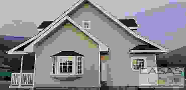 Maisons modernes par casas cubo Moderne