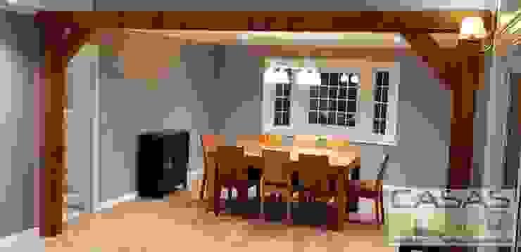 Salle à manger moderne par casas cubo Moderne