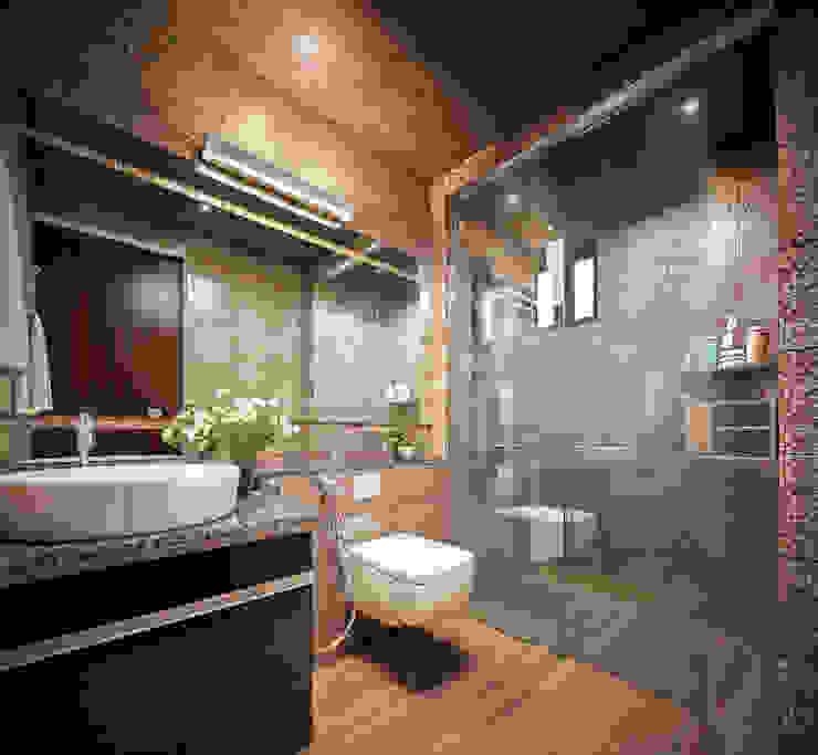 Modern Bathroom Design Ideas For Your Private Heaven... Asian style bathroom by Monnaie Interiors Pvt Ltd Asian