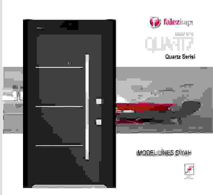 QUARTZ SERİSİ* Çalık Konsept Mimarlık Pencere & KapılarKapılar Siyah