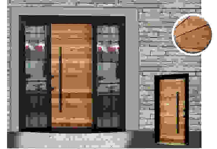 WOODEN SERİSİ* Çalık Konsept Mimarlık Pencere & KapılarKapılar Ahşap Ahşap rengi