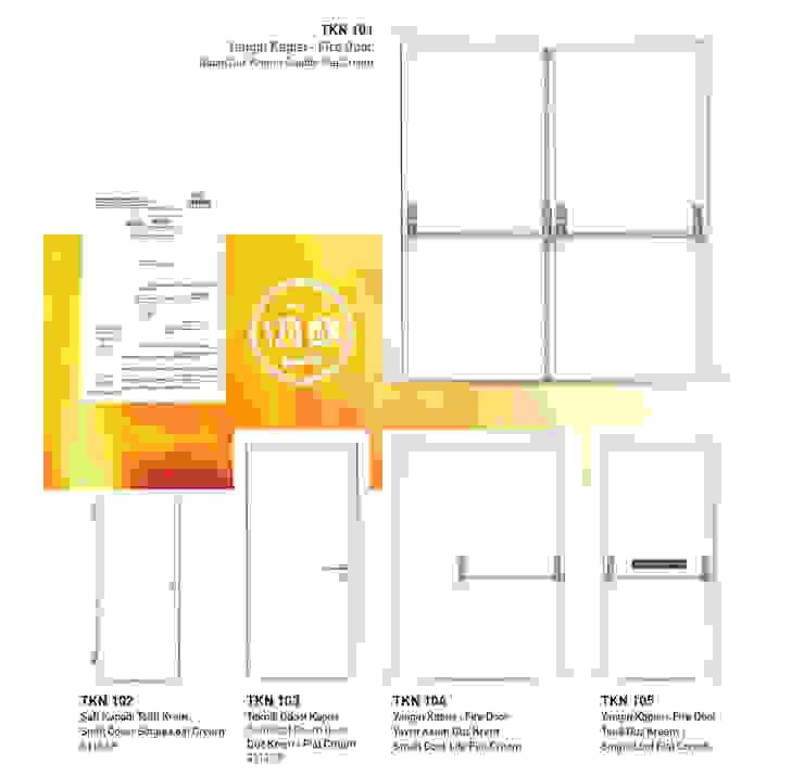 TEKNİK KAPILAR Çalık Konsept Mimarlık Pencere & KapılarKapılar Demir/Çelik Beyaz